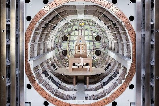 """Cofre antimagnetismo tentará detectar """"nova física"""""""