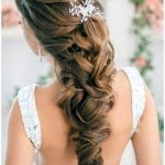 Bridesmaid Hairstyles Half Up Half Down With Curls