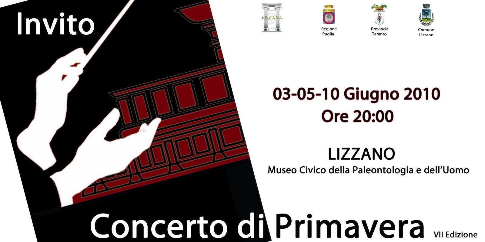 Concerto di Primavera 2010. Lizzano