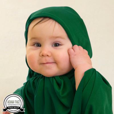 Baby islam comel