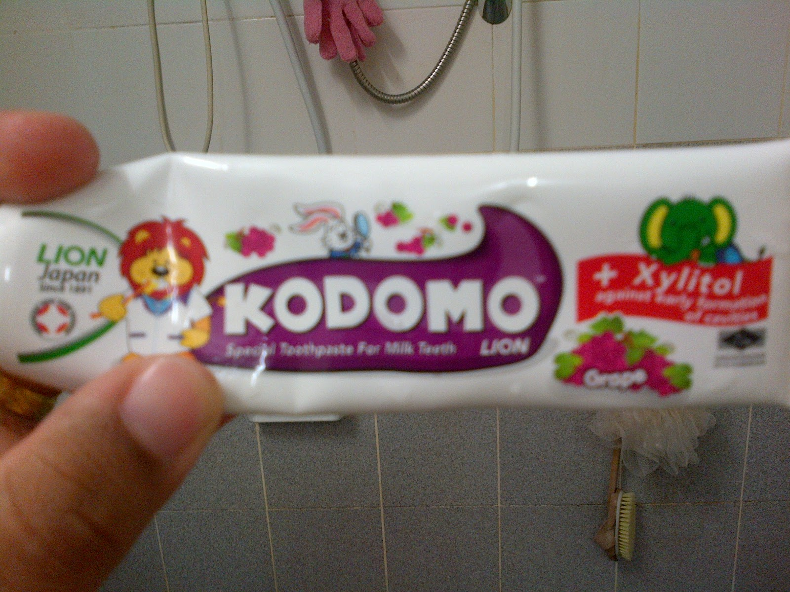 M Lion Toothpaste i'm happy w...