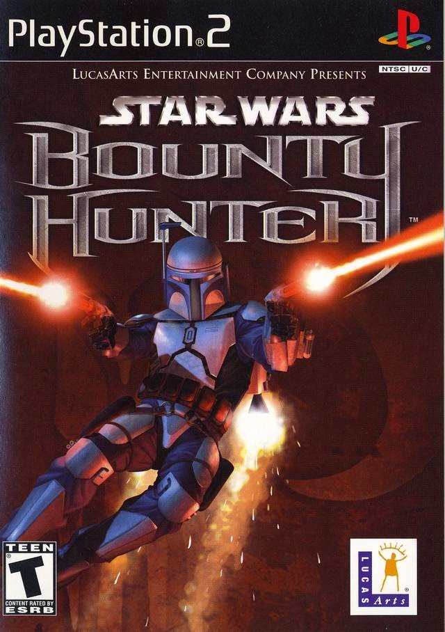 Star Wars Bounty Hunter Ps2 Iso Ntsc Juegos Para PlayStation 2
