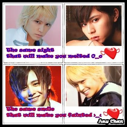 I Love Yamada Ryosuke and Tegoshi Yuya