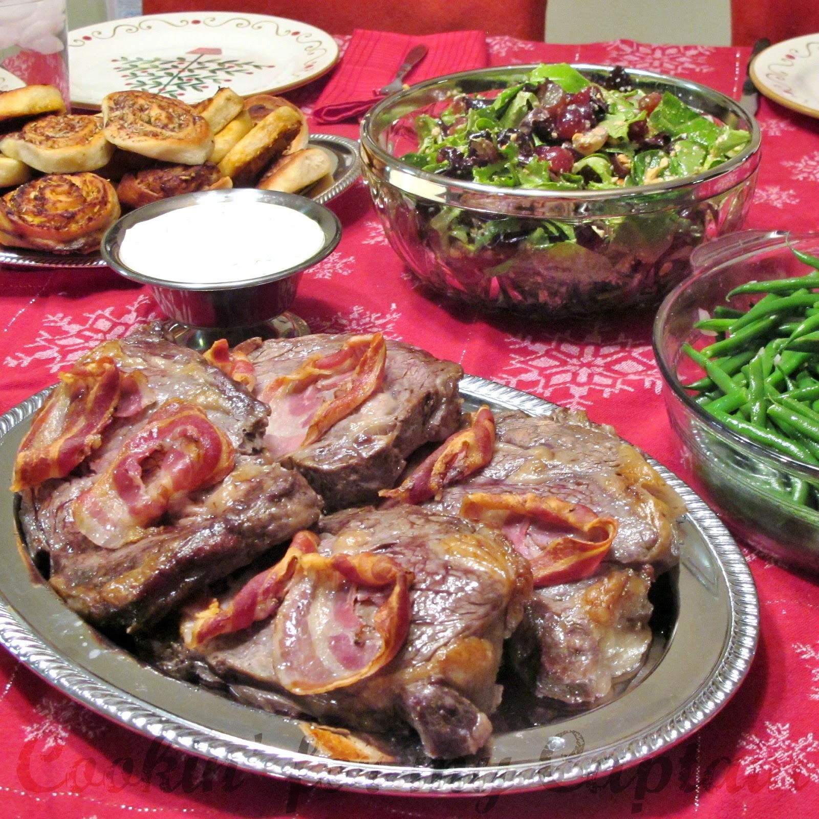 ... ' for my Captain: Elegant Holiday: Pancetta-Wrapped Beef Tenderloin