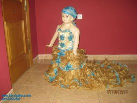 Vestidos de fiesta para ninas gitanas