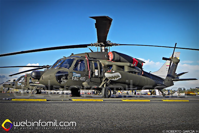 Sikorsky UH-60 Black Hawk Colombian Air Force