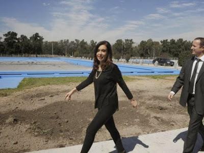 Las calzas de Cristina Kirchner