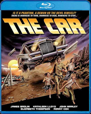 The Car Blu-ray cover Scream Factory
