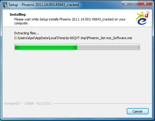 How to) flash a nokia mobilephone by pc using phoenix and navifirm.