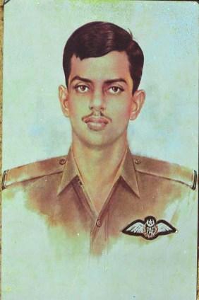 Pilot Officer Rashid Minhas Shaheed Nishan-e-Haider