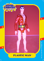 Super Powers Collection Plastic Man Action Figure by Kenner