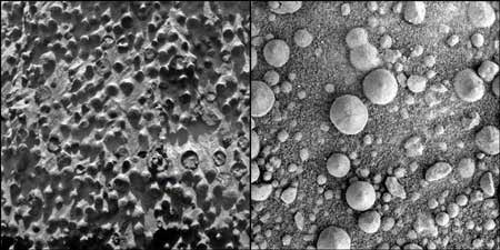 Benjolan Misterius di Planet Mars