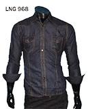 Kemeja Soft Jeans Lengan Panjang – LNG 968