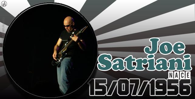 1956: nace Joe Satriani, virtuoso guitarrista estadounidense.