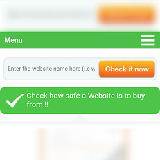 CHECK HOW SAFE A WEBSITE IS