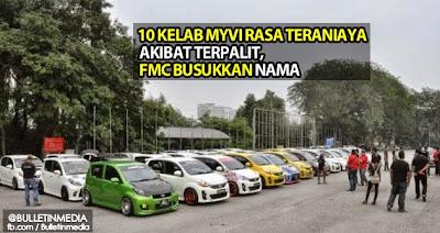10 Kelab Myvi Rasa Teraniaya AkibatTerpalit FMC Busukkan Nama