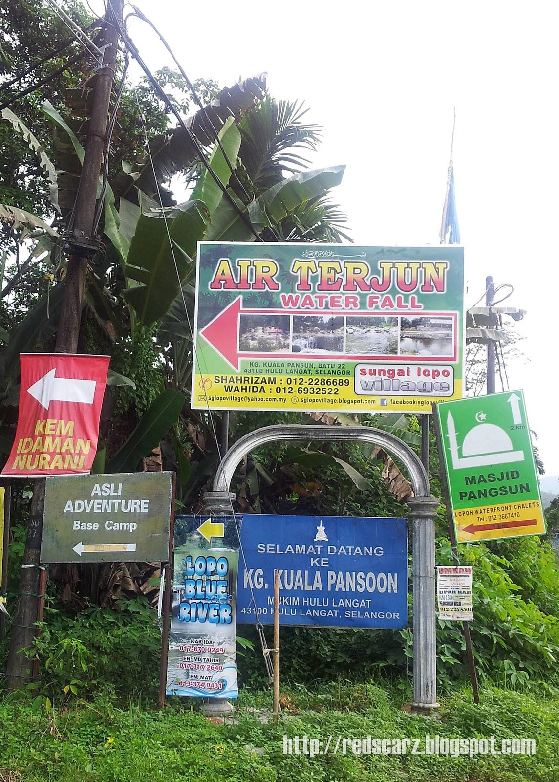 Chalet Pangsun Hulu Langat Kuala Pangsun Hulu Langat