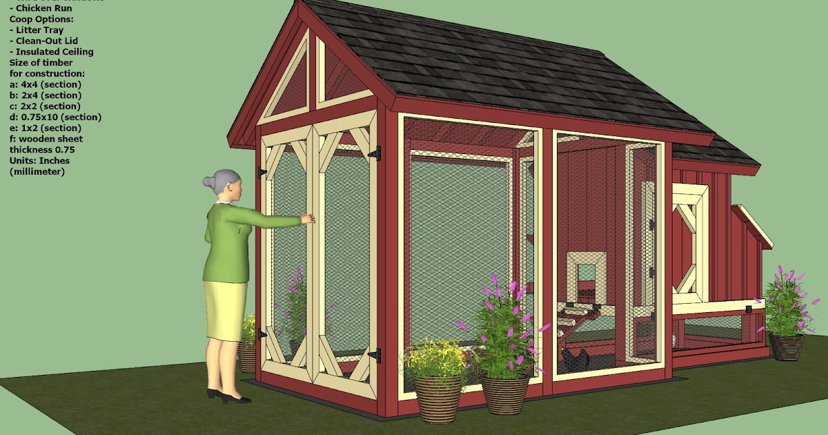 Bl chicken coop plans 4x4 for Small chicken coop blueprints free