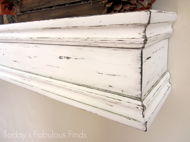 DIY Fireplace Mantels Shelves