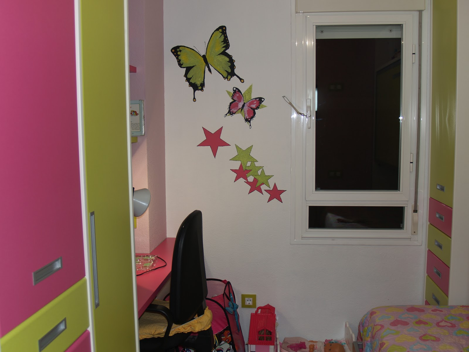 Arte y decoraci n murales infantiles pared con gotele - Pared gotele ...