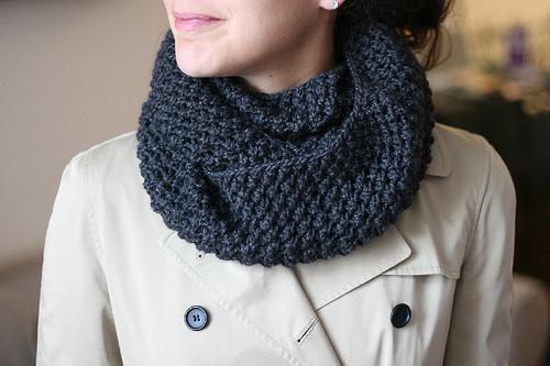 Infinity Scarf Pattern Knit In The Round : :: Tejido :: Patrones de tejido :: Cuellos y bufandas tejidos en 2 agujas ? K...