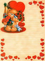 papeis de carta amor