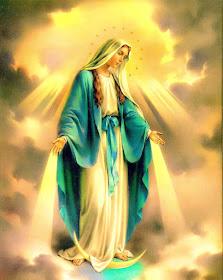 Este blog se acoge humildemente bajo el amparo de Nuestra Señora de la Medalla Milagrosa