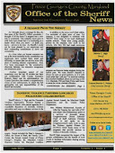 Sheriff's Fall Newsletter- January 2013