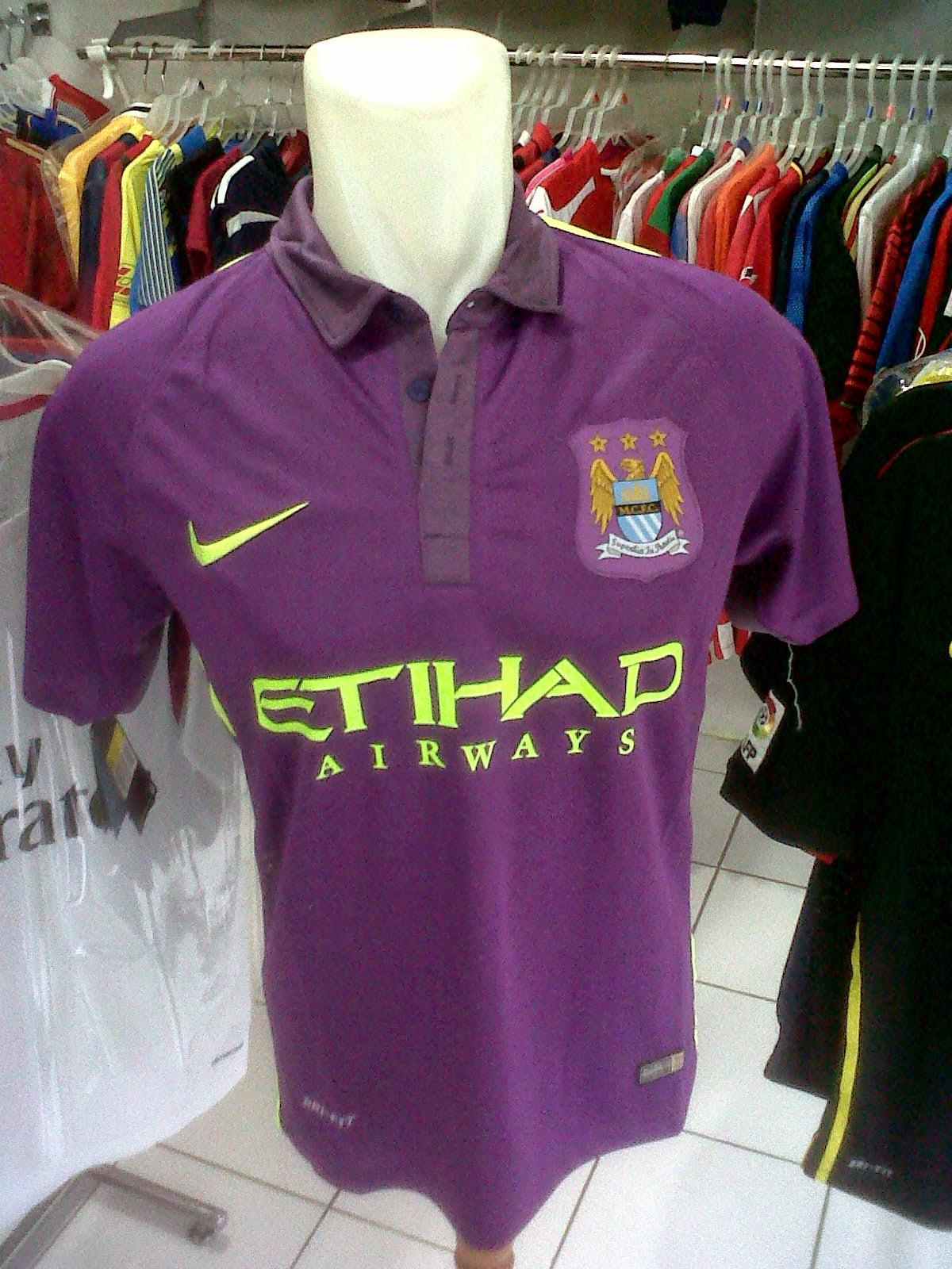 Jersey Manchester City 3rd 2014/2015