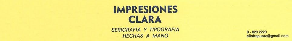 IMPRESIONES CLARA