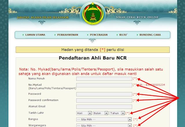 98 Pendaftaran Nikah Selangor Online Selangor Online Pendaftaran