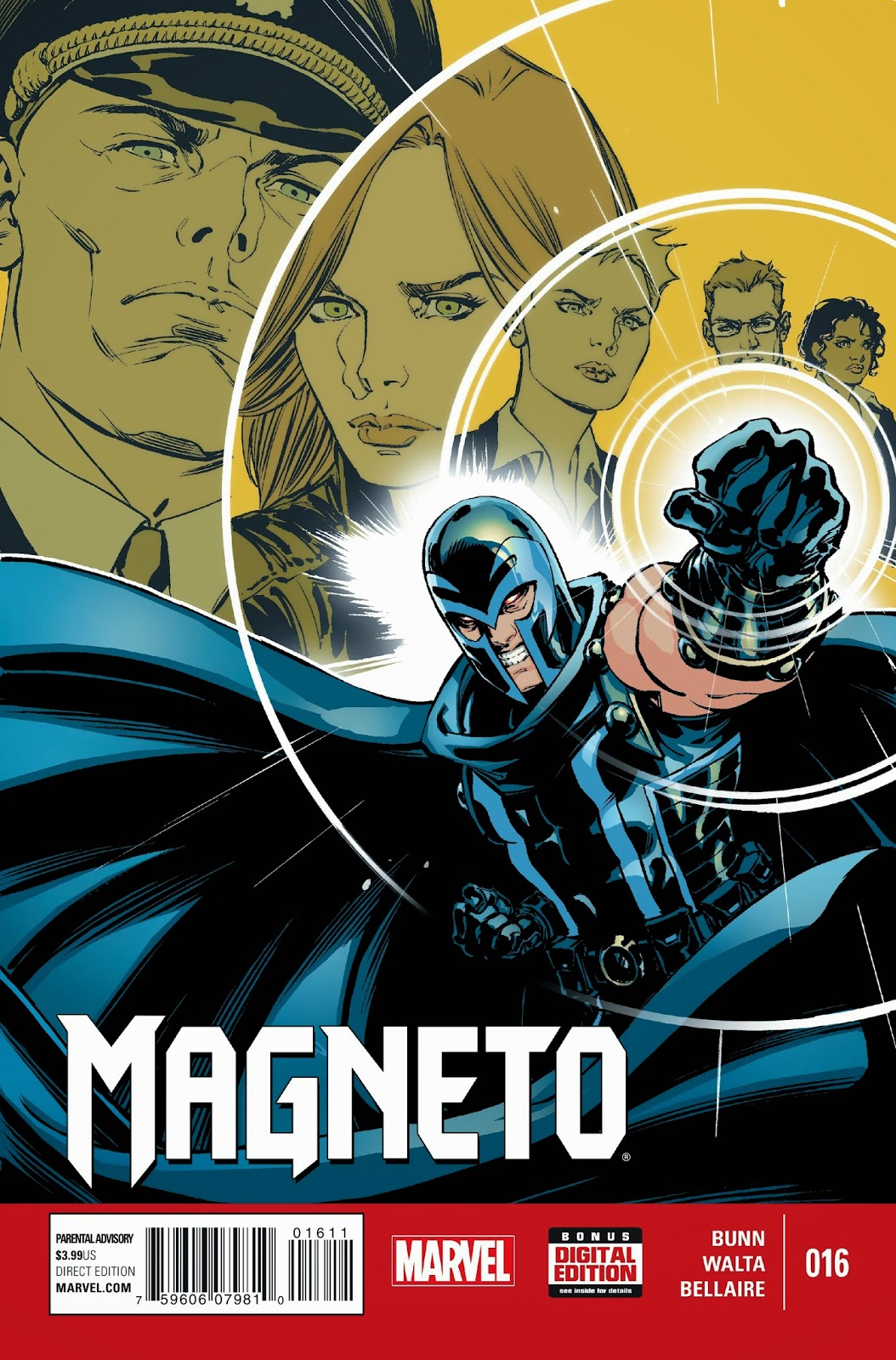 Magneto faces the ghosts of his past in the present