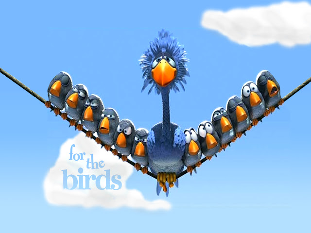 for the birds, birds, cartoon wallpapers, pixar