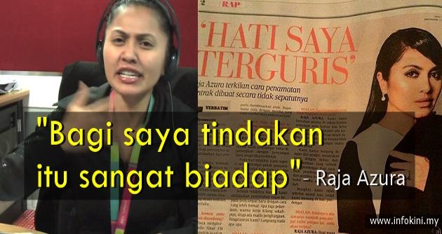 Raja Azura Mengamuk Besar Dengan Sinar FM Selepas Usahanya Selama Ini...