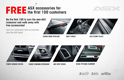 mitsubishi asx new mitsubishi asx offers power and style. Black Bedroom Furniture Sets. Home Design Ideas