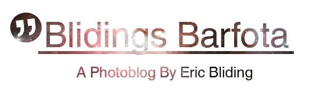 A photoblogg, Eric Bliding