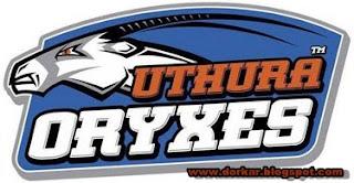 slpl team uthura oryxes logo