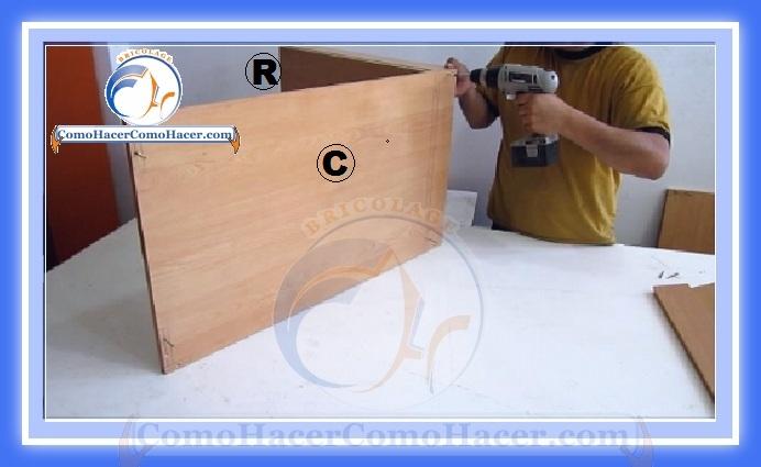 Muebles de cocina construcci n web del bricolaje dise o diy for Armado de muebles de cocina