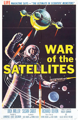 Poster - War of the Satellites (1958)