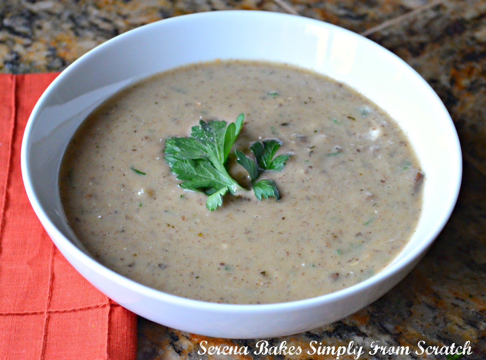 Cream Of Mushroom Soup From Scratch Gluten Free | Serena Bakes Simply ...