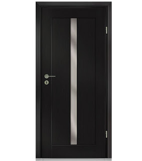 Drzwi Classic 8 VOX z pionowym przeszkleniem