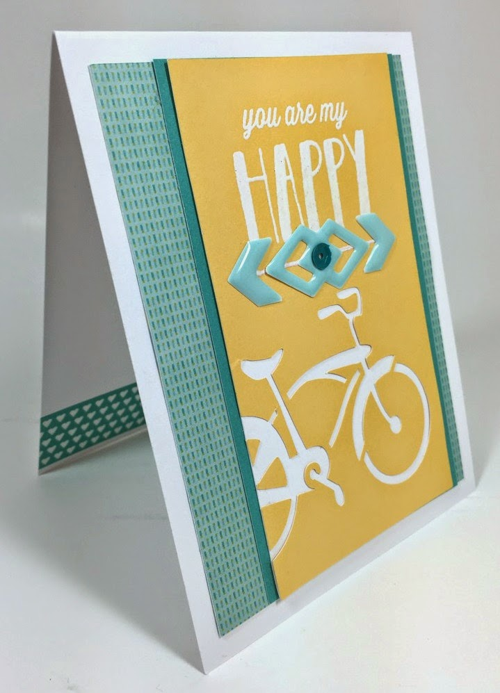 Cricut You are My Happy card