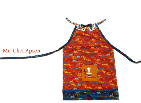 boys apron sewing tutorial