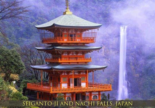 Interesting Places in Japan, Tempat menarik di Jepun, Pagoda Jepun, Nintama Rantarou, Ninja Kids, World Heritage Site UNESCO