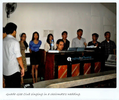 singing choir