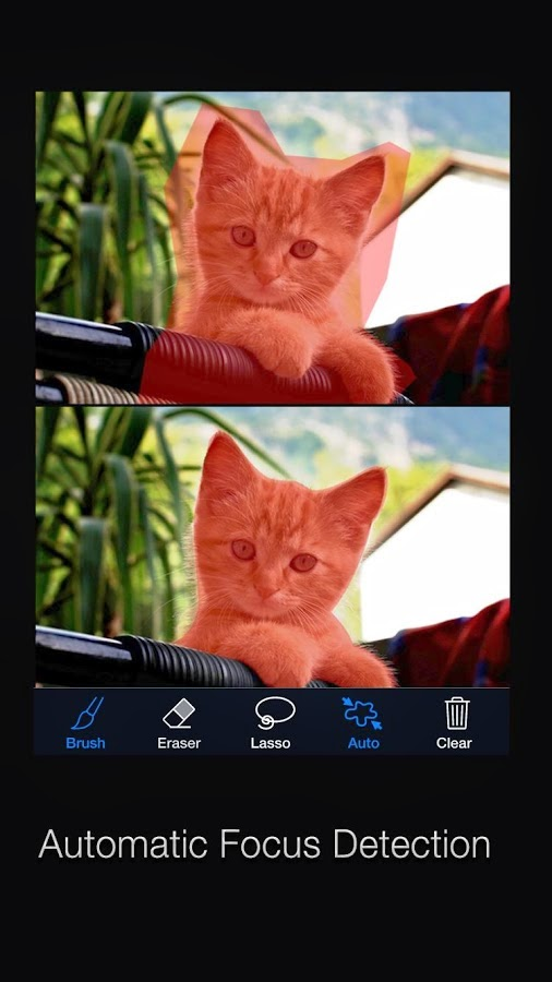 Big Lens Apk - Android Fotoğraf Efekt Uygulaması