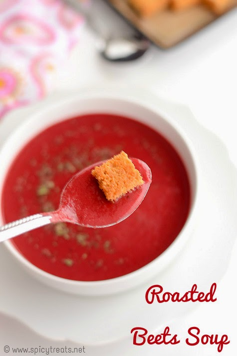 Beetroot Almond Soup