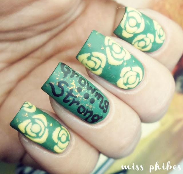 House Tyrell nail art
