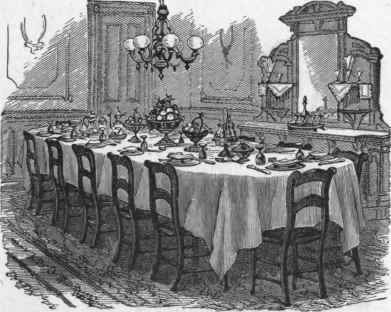 Today 39 s treasure by jen masters of the victorian table for Edwardian table setting