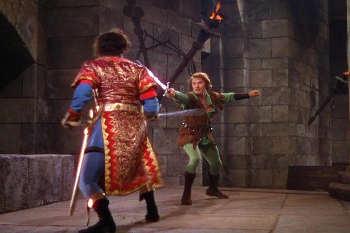 The adventures of robin hood: errol flynn and color